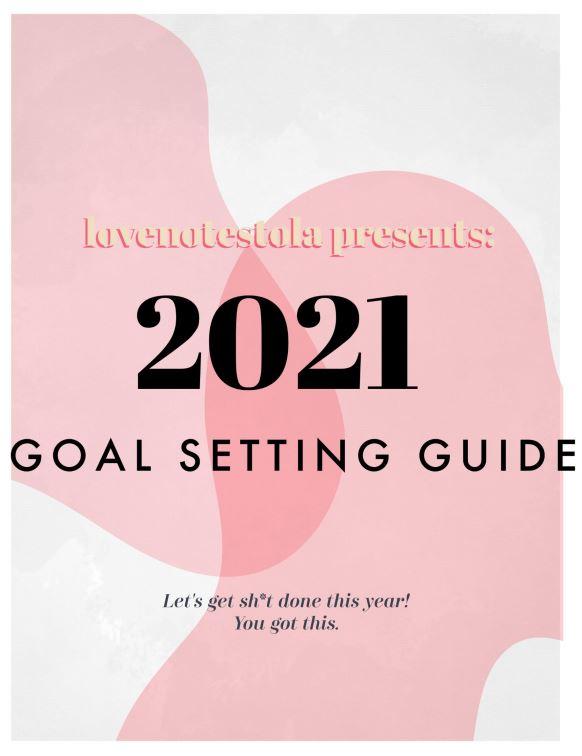 Goal setting guide FREE